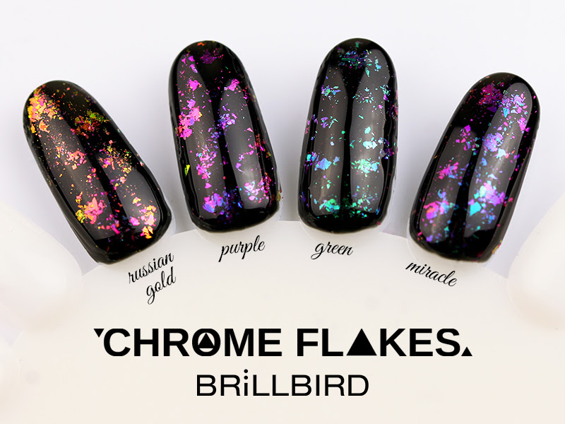 CHROME FLAKES - the new MUST HAVE