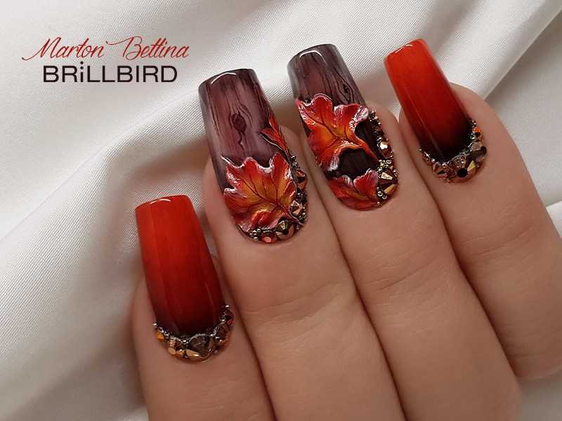 Autumn nails variations